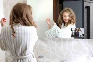 mirror multimedia aranżacje łazienek